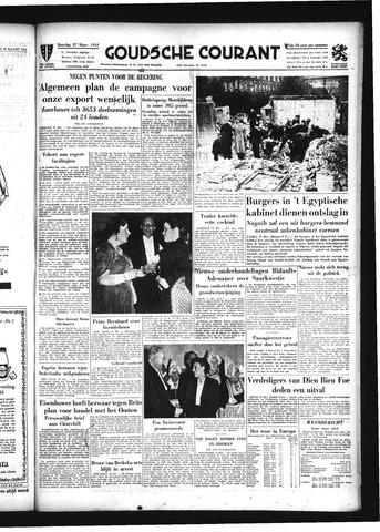 Goudsche Courant 1954-03-27