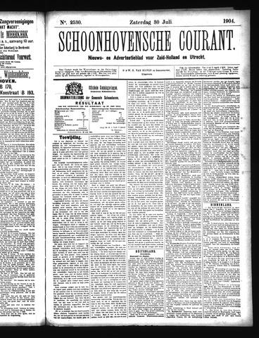 Schoonhovensche Courant 1904-07-30
