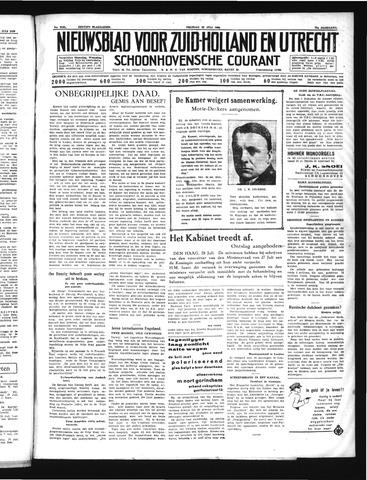 Schoonhovensche Courant 1939-07-28