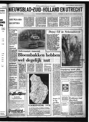 Schoonhovensche Courant 1977-12-30