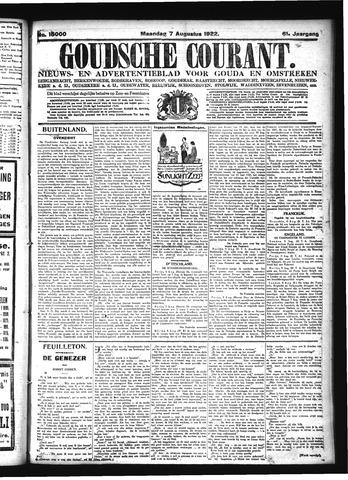 Goudsche Courant 1922-08-07