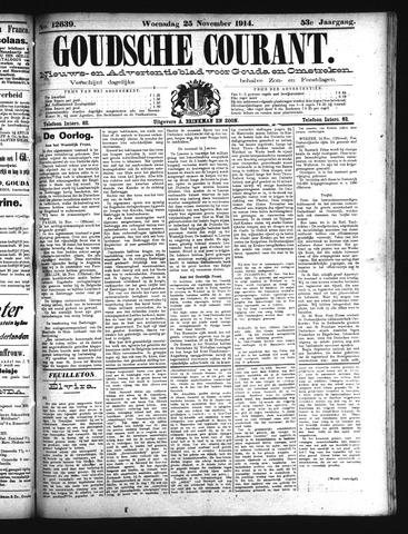 Goudsche Courant 1914-11-25