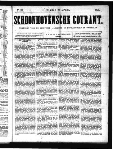 Schoonhovensche Courant 1873-04-20