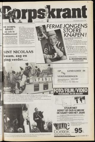 Dorpskrant 1987-11-25
