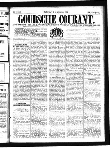 Goudsche Courant 1920-08-07