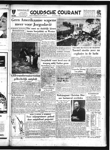 Goudsche Courant 1957-10-24