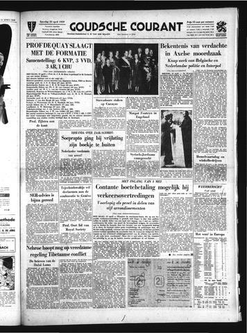 Goudsche Courant 1959-04-25