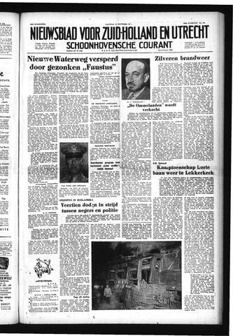 Schoonhovensche Courant 1952-11-10