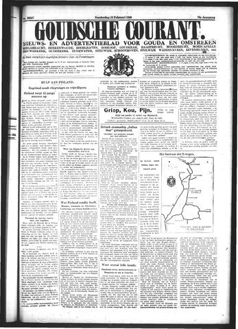 Goudsche Courant 1940-02-15