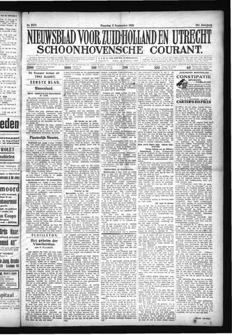 Schoonhovensche Courant 1928-09-03
