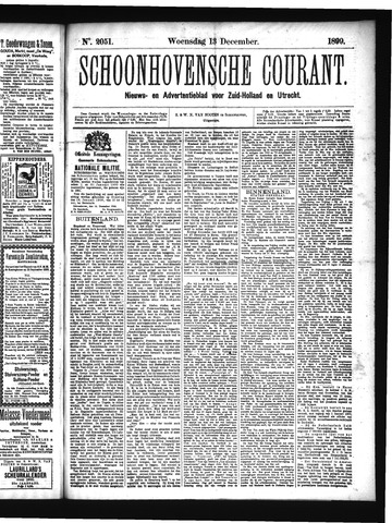 Schoonhovensche Courant 1899-12-13