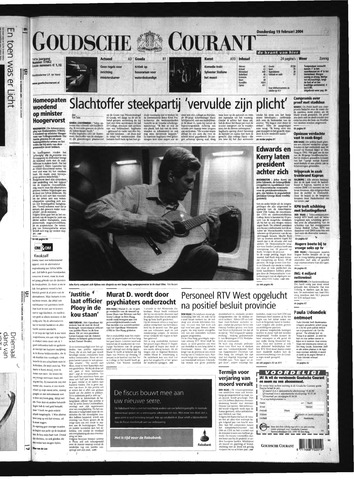 Goudsche Courant 2004-02-19