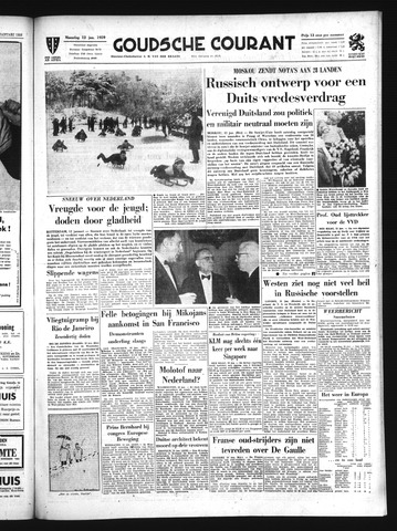 Goudsche Courant 1959-01-12