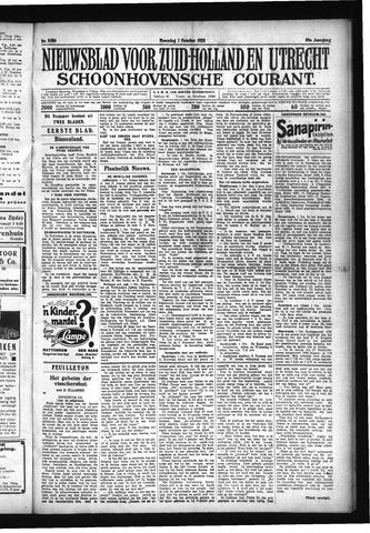 Schoonhovensche Courant 1928-10-01