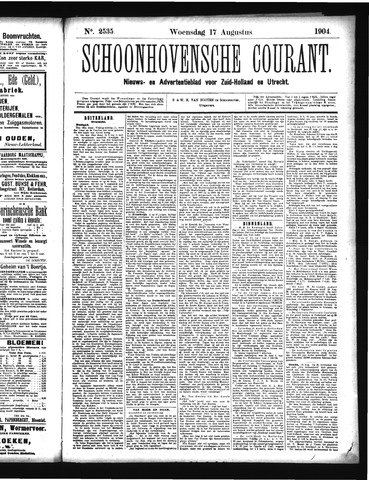 Schoonhovensche Courant 1904-08-17