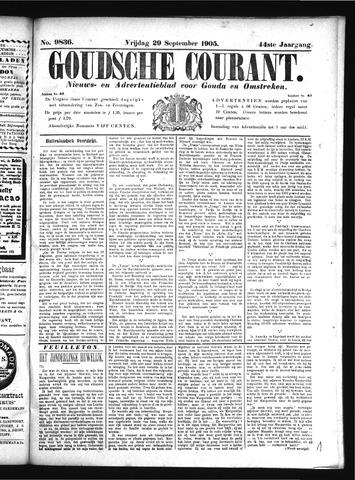 Goudsche Courant 1905-09-29