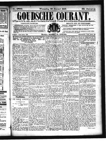 Goudsche Courant 1918-01-30