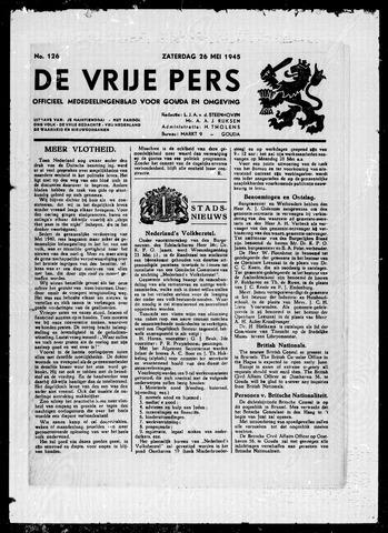 De Vrije Pers 1945-05-26