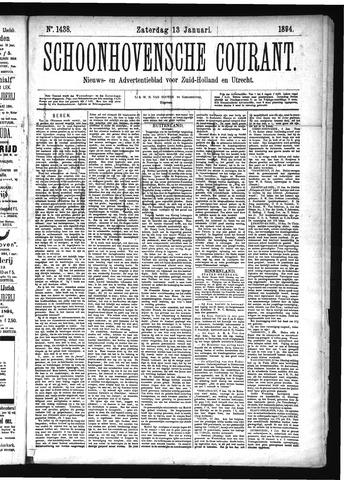 Schoonhovensche Courant 1894-01-13