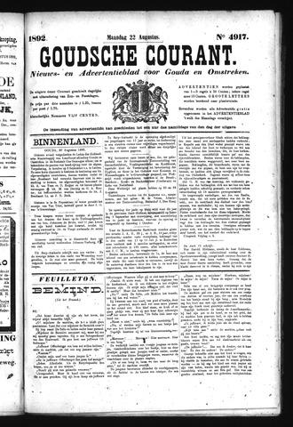 Goudsche Courant 1892-08-22