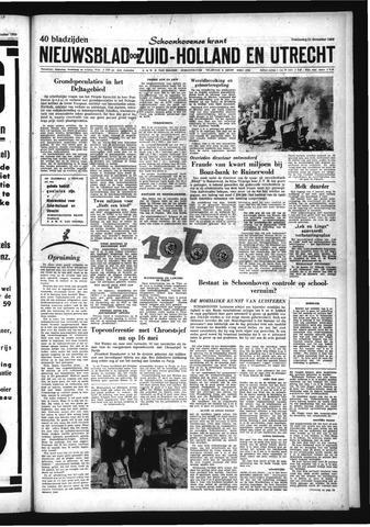 Schoonhovensche Courant 1959-12-31