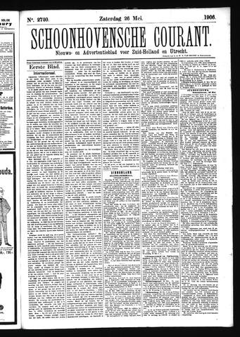 Schoonhovensche Courant 1906-05-26