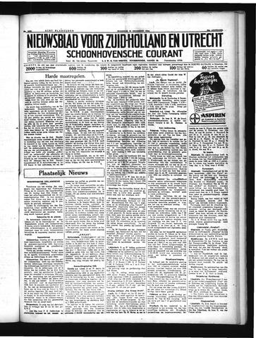 Schoonhovensche Courant 1934-12-10