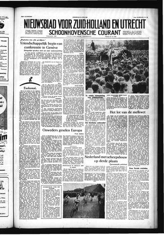 Schoonhovensche Courant 1955-07-20