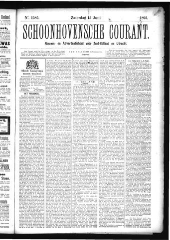 Schoonhovensche Courant 1895-06-15