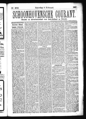 Schoonhovensche Courant 1907-02-09