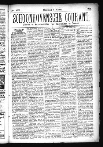 Schoonhovensche Courant 1915-03-02