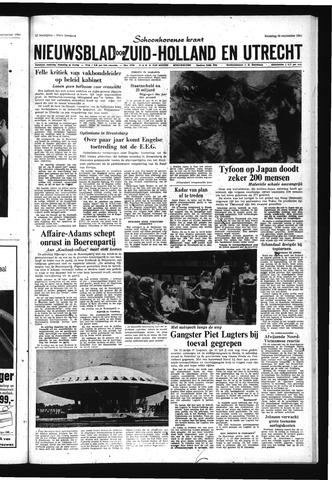 Schoonhovensche Courant 1966-09-26
