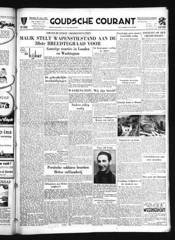 Goudsche Courant 1951-06-25