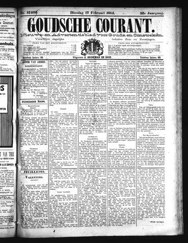 Goudsche Courant 1914-02-17
