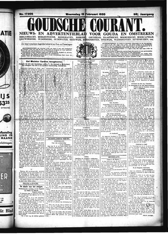 Goudsche Courant 1930-02-19