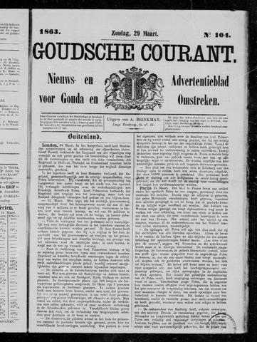 Goudsche Courant 1863-03-29