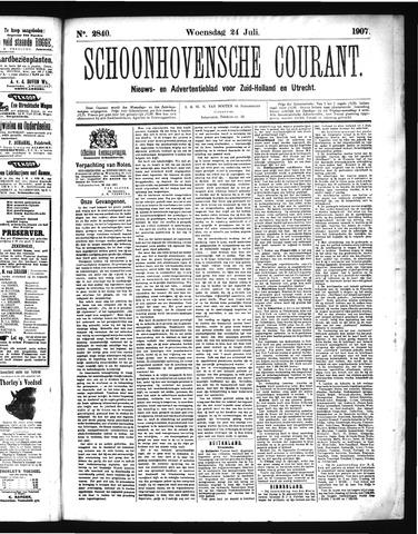 Schoonhovensche Courant 1907-07-24