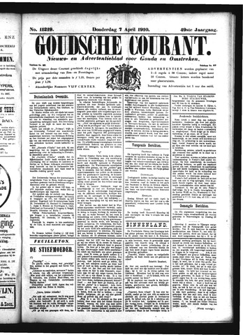 Goudsche Courant 1910-04-07