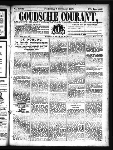 Goudsche Courant 1918-11-07