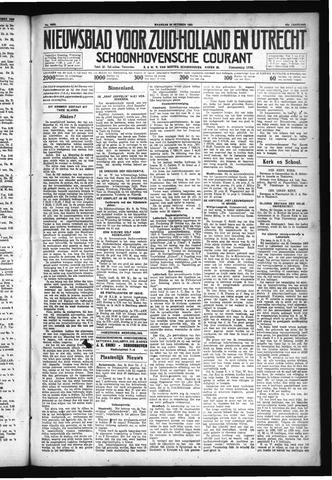 Schoonhovensche Courant 1930-10-20