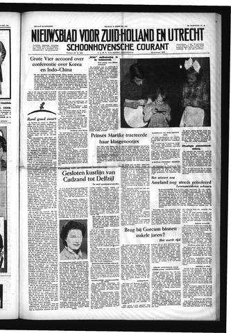 Schoonhovensche Courant 1954-02-19