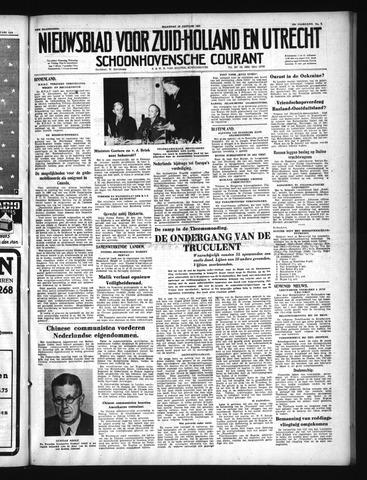 Schoonhovensche Courant 1950-01-16