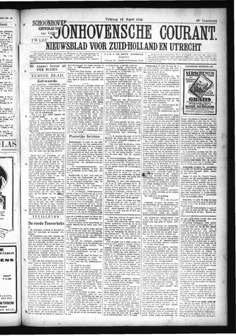 Schoonhovensche Courant 1926-04-16