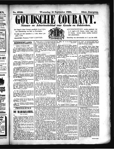 Goudsche Courant 1895-09-11