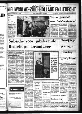 Schoonhovensche Courant 1976-05-24