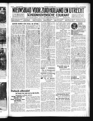 Schoonhovensche Courant 1939-10-18