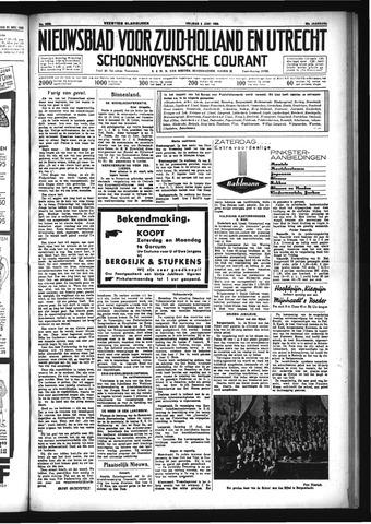 Schoonhovensche Courant 1933-06-02