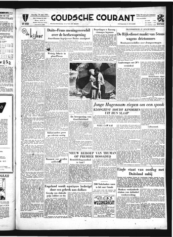 Goudsche Courant 1951-07-10