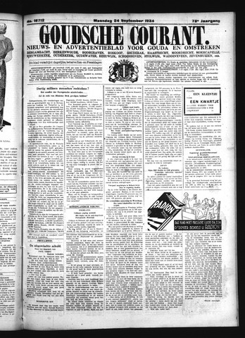 Goudsche Courant 1934-09-24