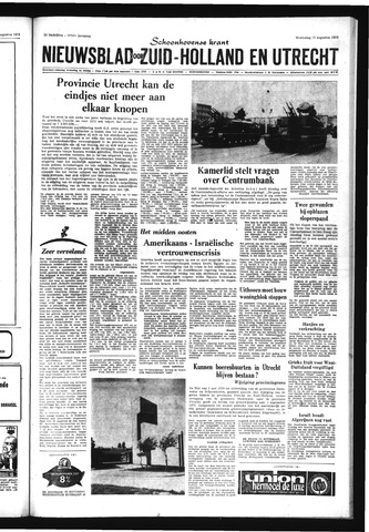 Schoonhovensche Courant 1970-08-19
